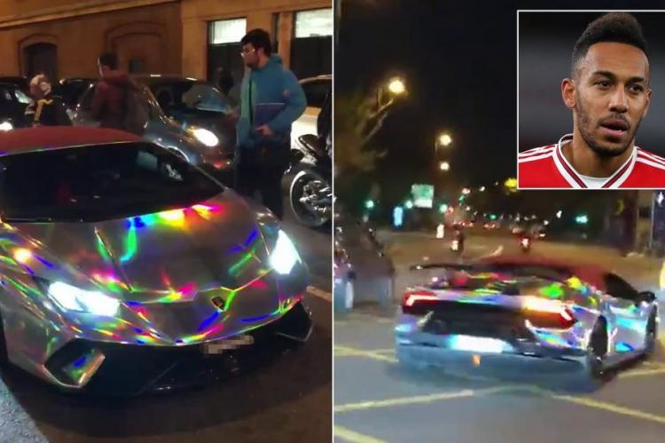 Fudbaler Arsenala slupao automobil od 270 hiljada funti