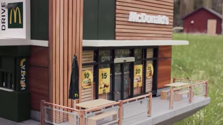 """Otvoren najmanji """"McDonalds"""" na svijetu, ali njegovi gosti nijesu ljudi"""
