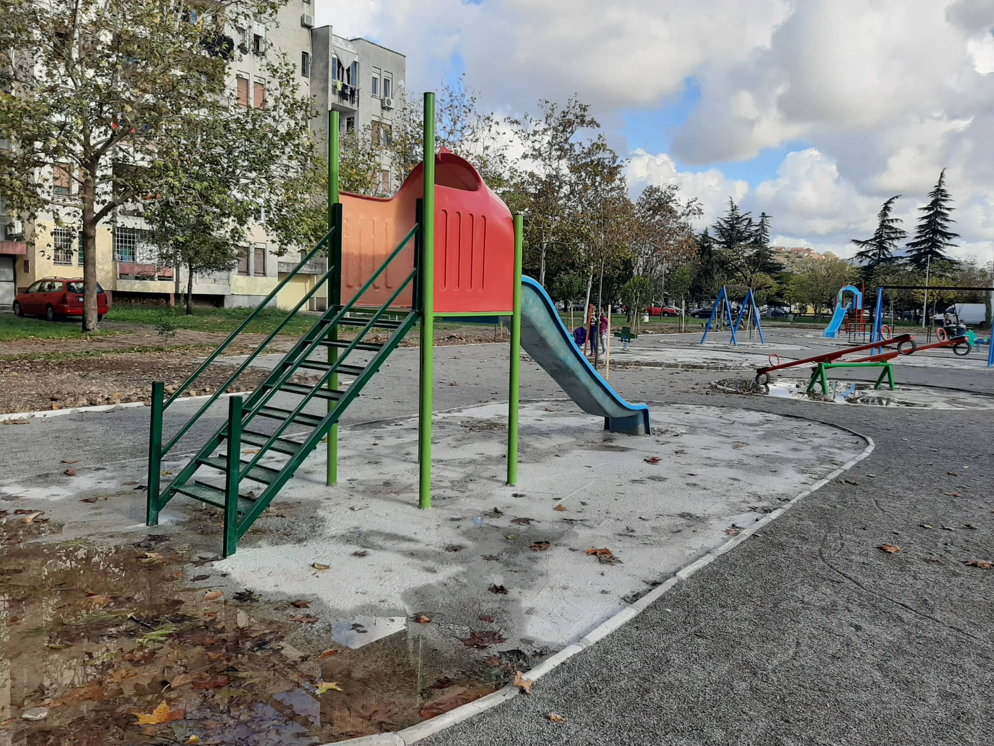 Novo igralište u Bloku VI: Pogledajte kako teku radovi
