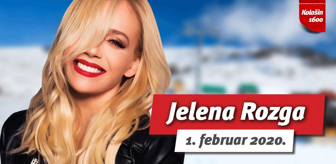 Koncert Jelene Rozge na ski centru Kolašin 1600