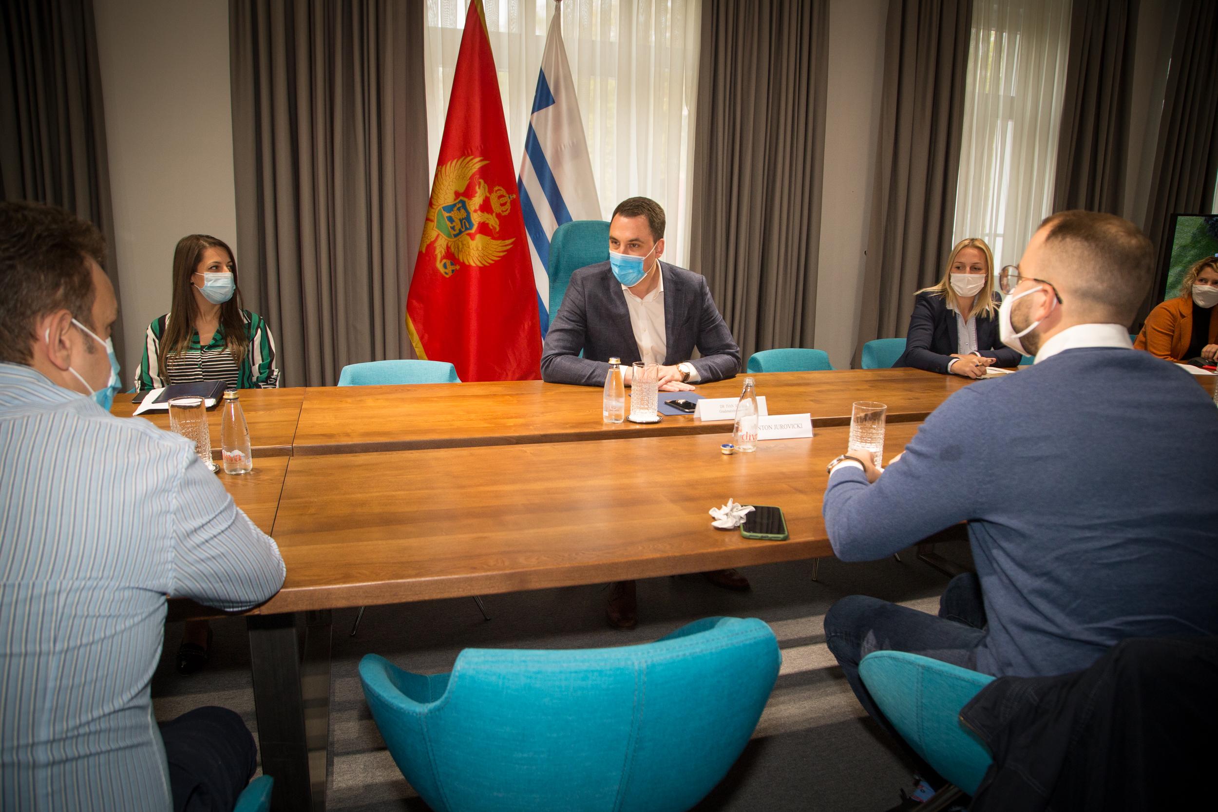Vuković sa predstavnicima građana Zagoriča: Uskoro nova parkovska površina u nastavku Ulice II crnogorskog bataljona