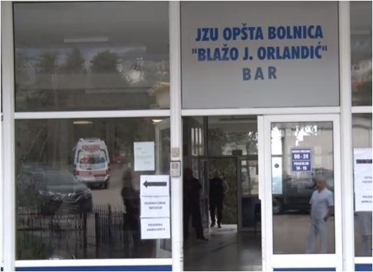 Zatvoreno pedijatrijsko odjeljenje bolnice u Baru