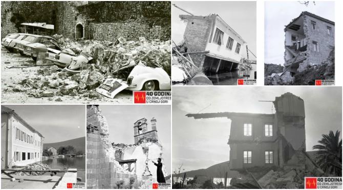 Crna Gora obilježava 40 godina od katastrofalnog razaranja, pogledajte uništeno primorje