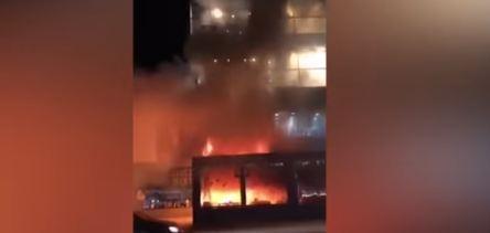 "Zastrašujuće scene u centru Sarajeva: Požar ""guta"" tržni centar, građani panično bježali"