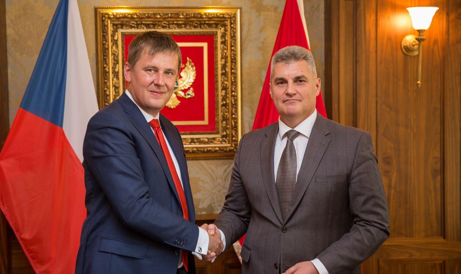 Brajović sa šefom češke diplomatije: Politika proširenja da ostane visoko na listi prioriteta EU