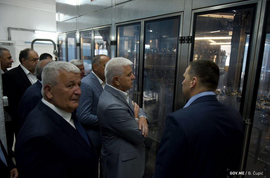 Uloženo tri miliona: Marković u Šavniku otvorio novi pogon fabrike vode Diva