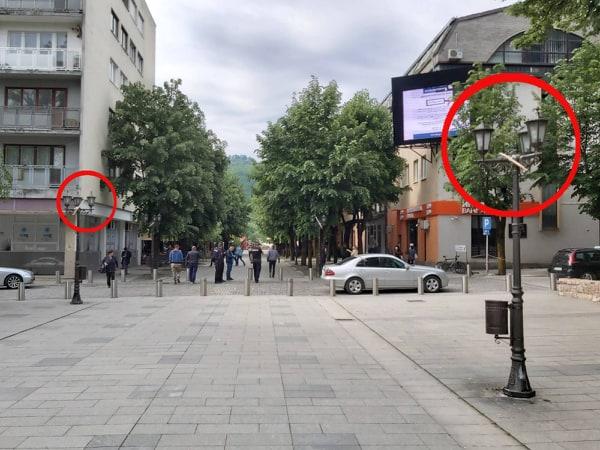 Čin primitivizma na Trgu Slobode u Bijelom Polju!