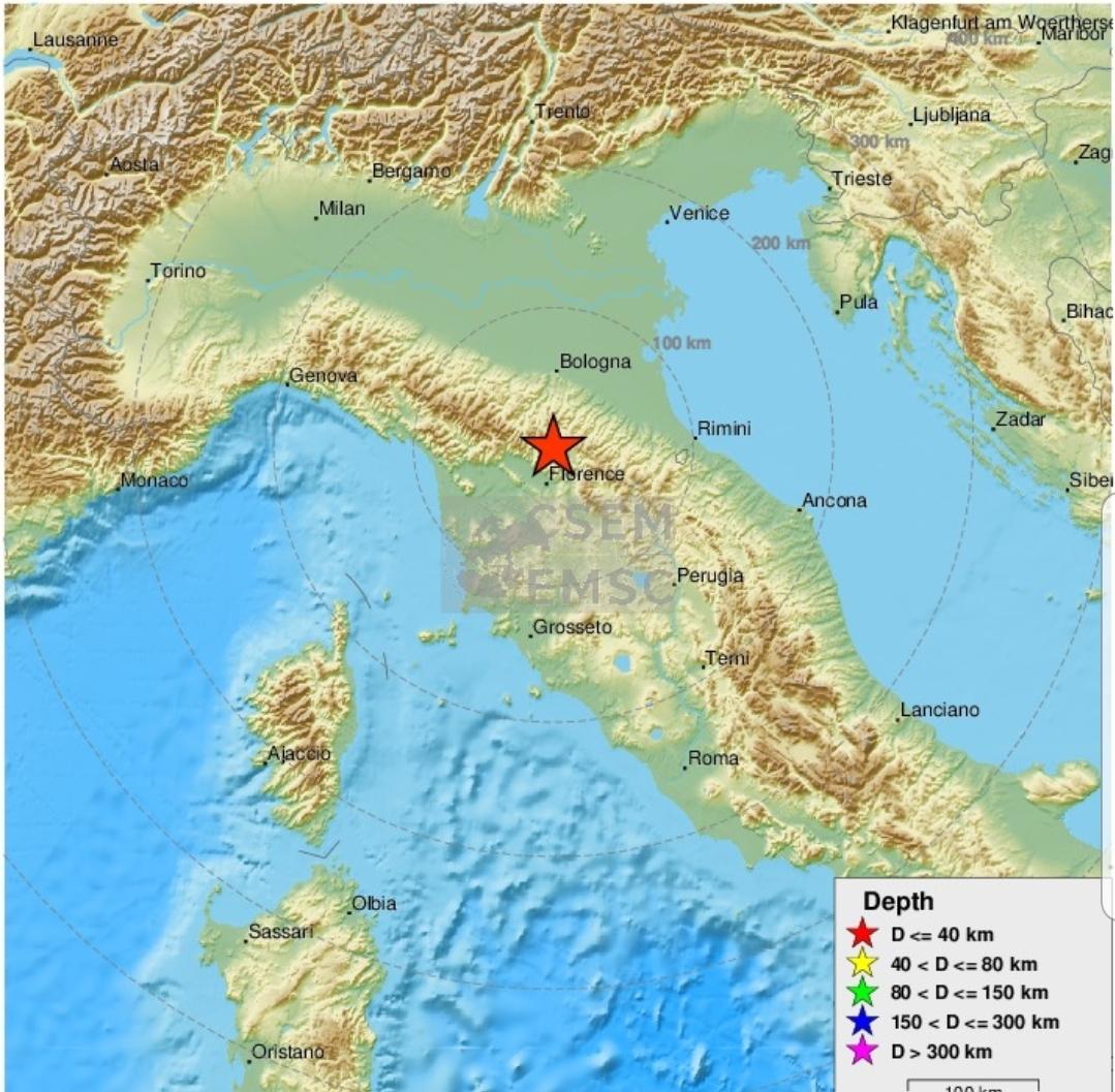 Jači zemljotres u Italiji