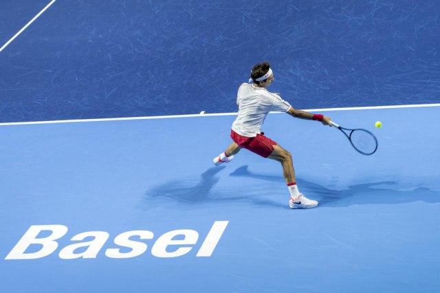 Federer ekspresno do četvrtfinala Bazela