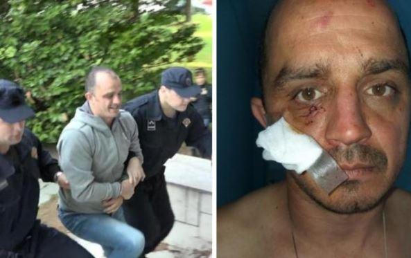 Čaki Ivanoviću godina zatvora za napad na policajca