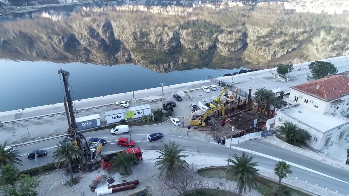 1,4 miliona: Radi se pothodnik koji spaja rivu i Stari grad Kotor