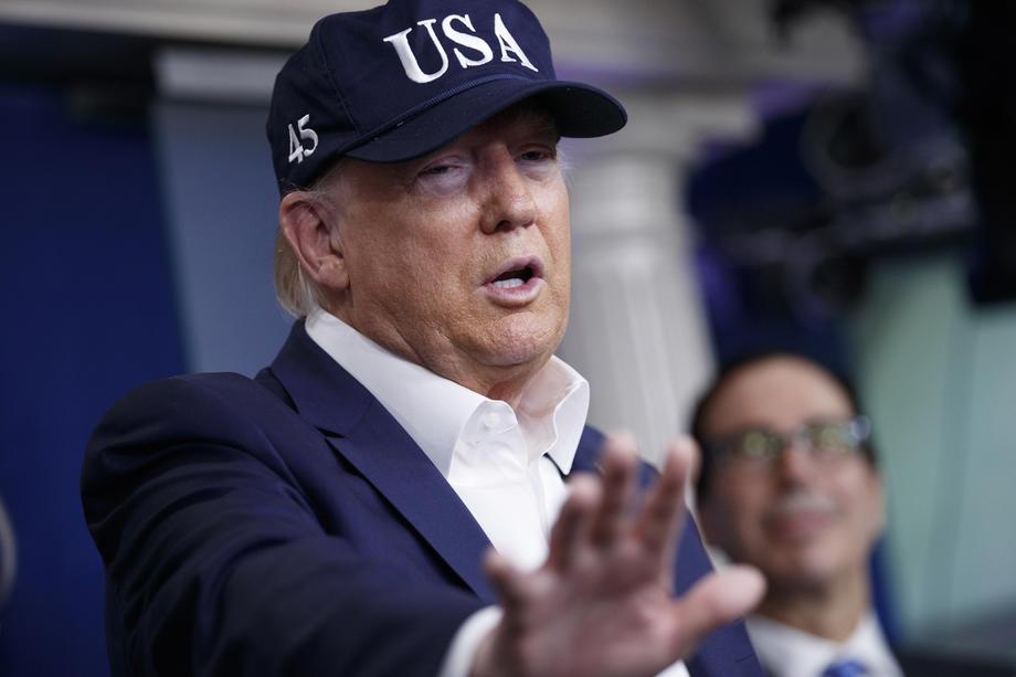 Tramp: Biće dobar posao ako zadržimo broj mrtvih ispod 100.000