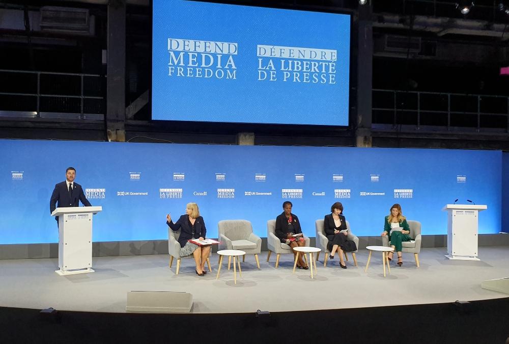 Bogdanović: Sloboda medija za Crnu Goru predstavlja osnov demokratskog života