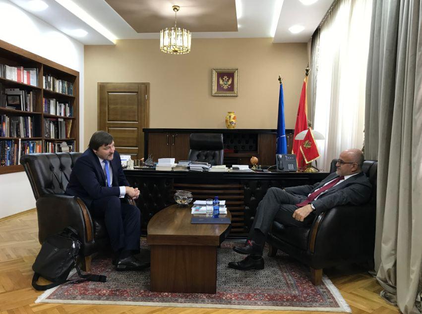 Darmanović primio ambasadora Letonije: Pohvaljen doprinos Crne Gore NATO misiji