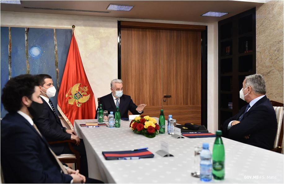 Zajedničko saopštenje sa sastanka:  Stvoriti uslove za kohabitaciju koja će voditi efikasnijem funkcionisanju vlasti