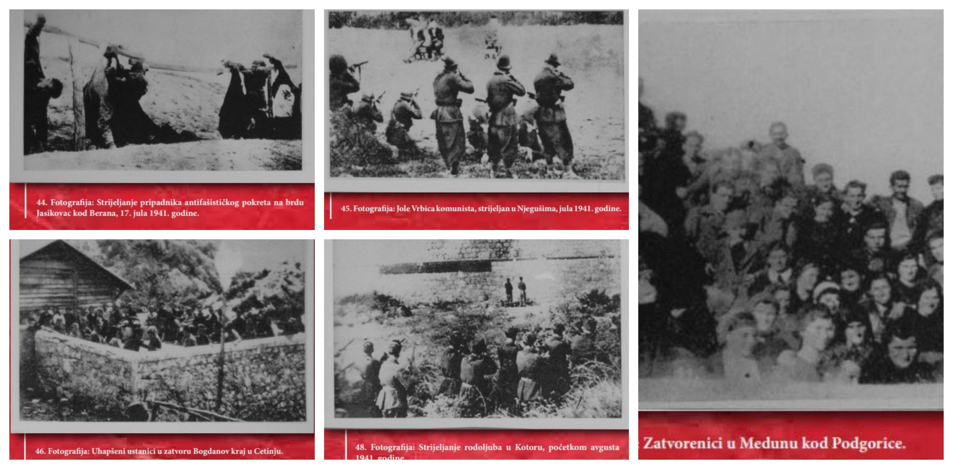 Crnogorsko NE fašizmu - Pogledajte  fotografije i dokumenta koji su obilježili ratnu 1941.