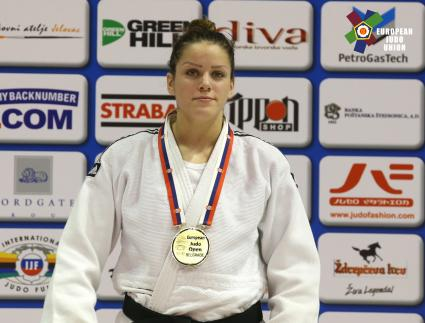 Peković prvakinja Evrope