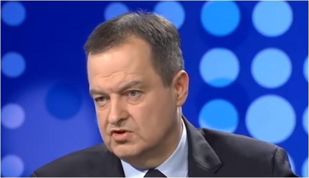 Dačić: Podrška vlastima Crne Gore u donošenju zakona je izdaja Srbije