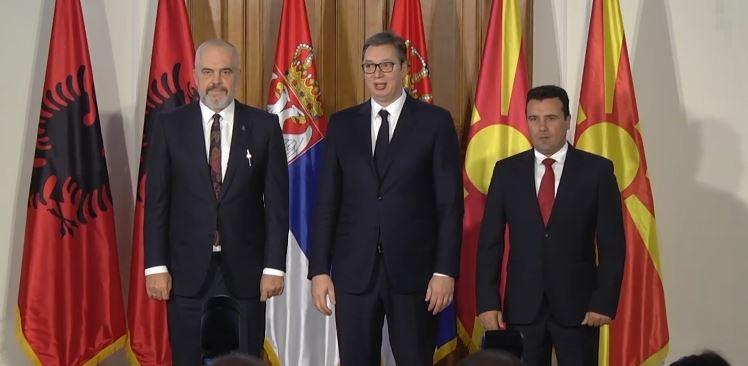 Sastanak Vučića, Zaeva i Rame: Obezbijediti brži prelazak granice