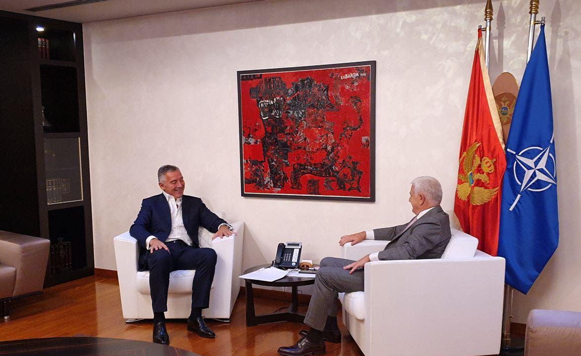 Sastali se Đukanović i Marković, razgovarali o najvažnijim državnim pitanjima