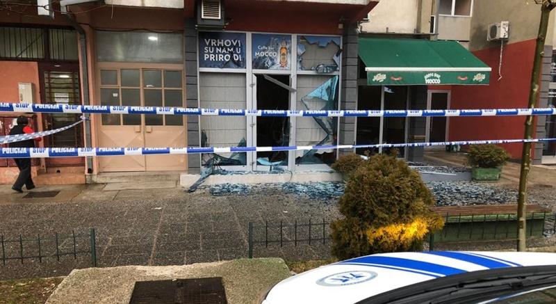 Nikšićki kafić oštećen u eksploziji