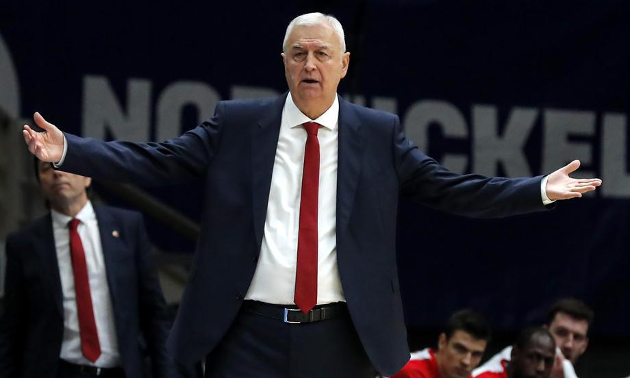 Dragan Šakota nije više trener Crvene zvezde