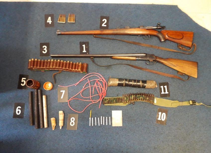 U Danilovgradu uhapšen muškarac: Oduzeto oružje, municija, eksploziv...