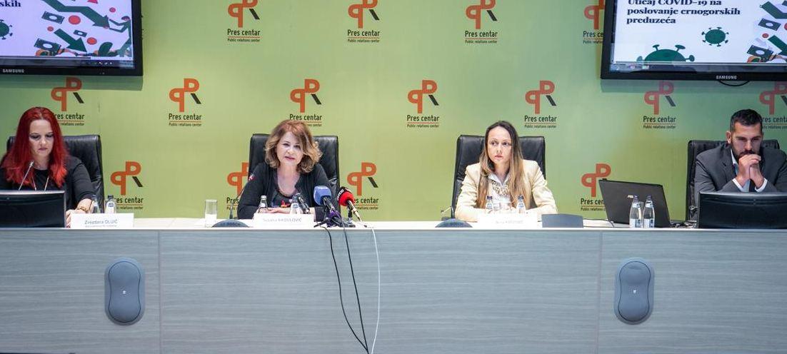 UPCG: Koronavirus zaustavio rad preko 40 odsto kompanija u Crnoj Gori