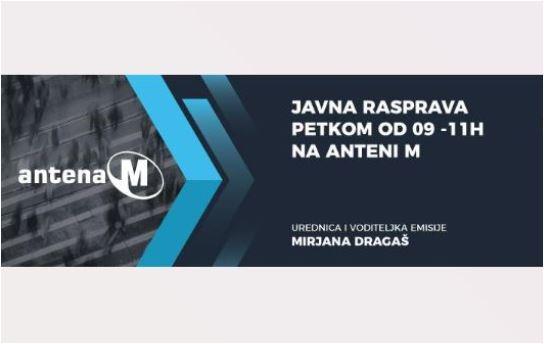 Nova sezona: Javna rasprava od 10 sati na Anteni M