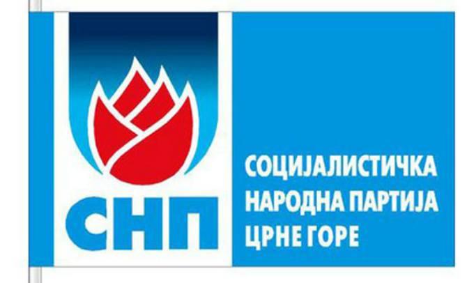 SNP Bijelo Polje: Najoštrije osuđujemo skrnavljenje državnih simbola