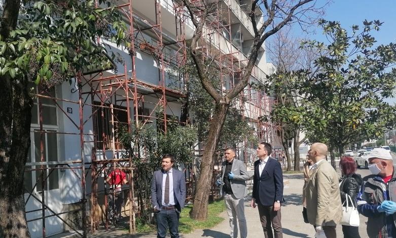 Agencija za stanovanje uređuje fasade na četiri stambena objekta