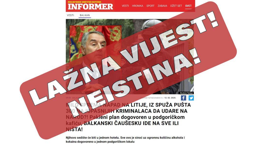Bogdanović:  Za CG značajno što je EU prepoznala i osudila kampanju dezinformacija