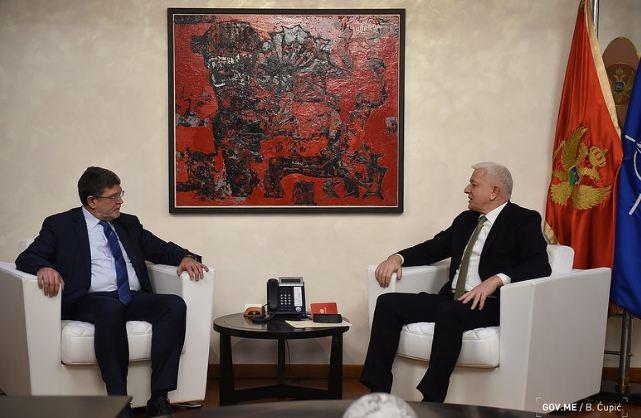 Marković sa Piculom: Crna Gora nema alternativu za EU