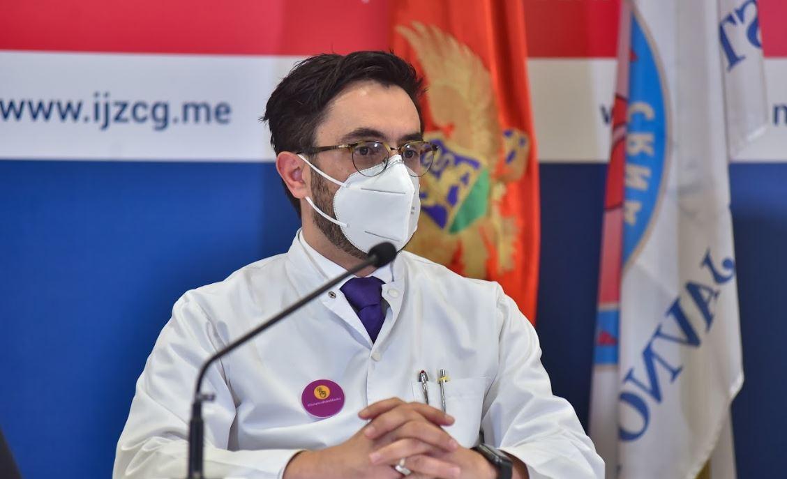 Registrovan prvi slučaj ponovne infekcije u Crnoj Gori
