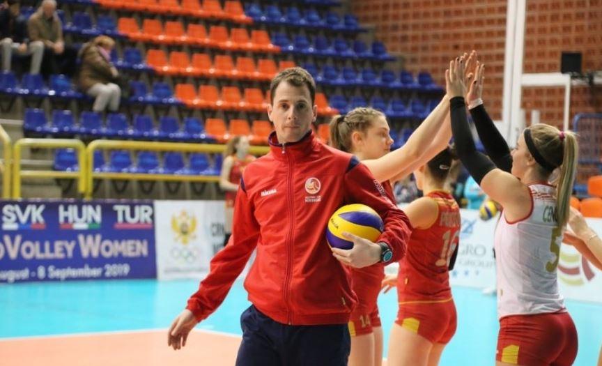 Masoničić vodi kadetkinje na Balkanskom prvenstvu