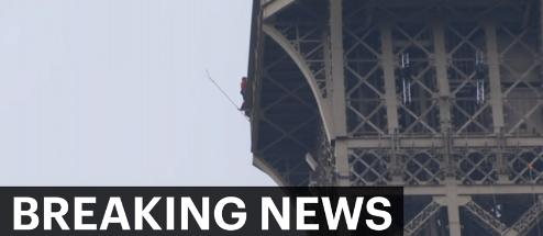 Muškarac se peo na Ajfelovu kulu, toranj evakuisan