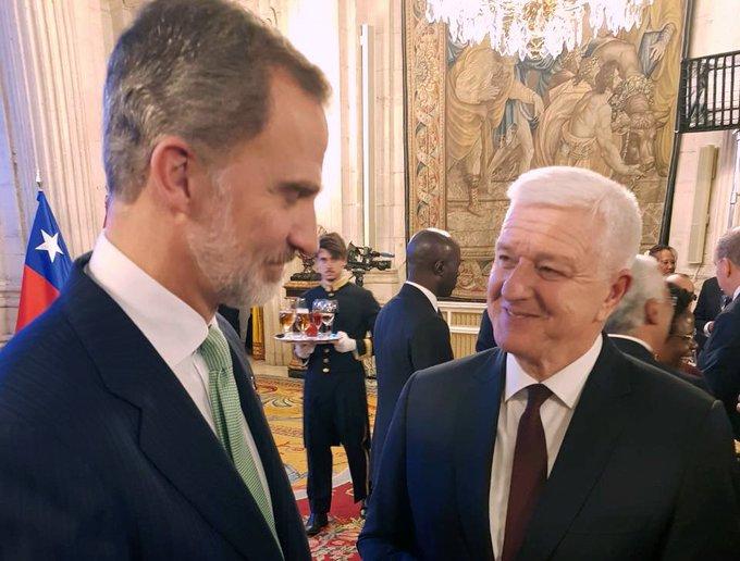 Marković na prijemu kod kralja Španije