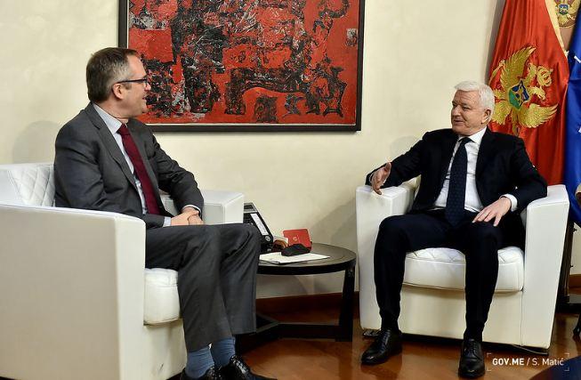 Marković sa predstavnikom SB: CG napreduje u reformama i ostvaruje zapažene rezultate