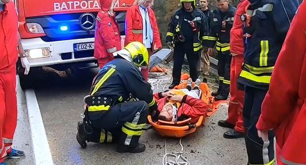 Vatrogasci objavili video sa mjesta nesreće u kanjonu Vrbasa