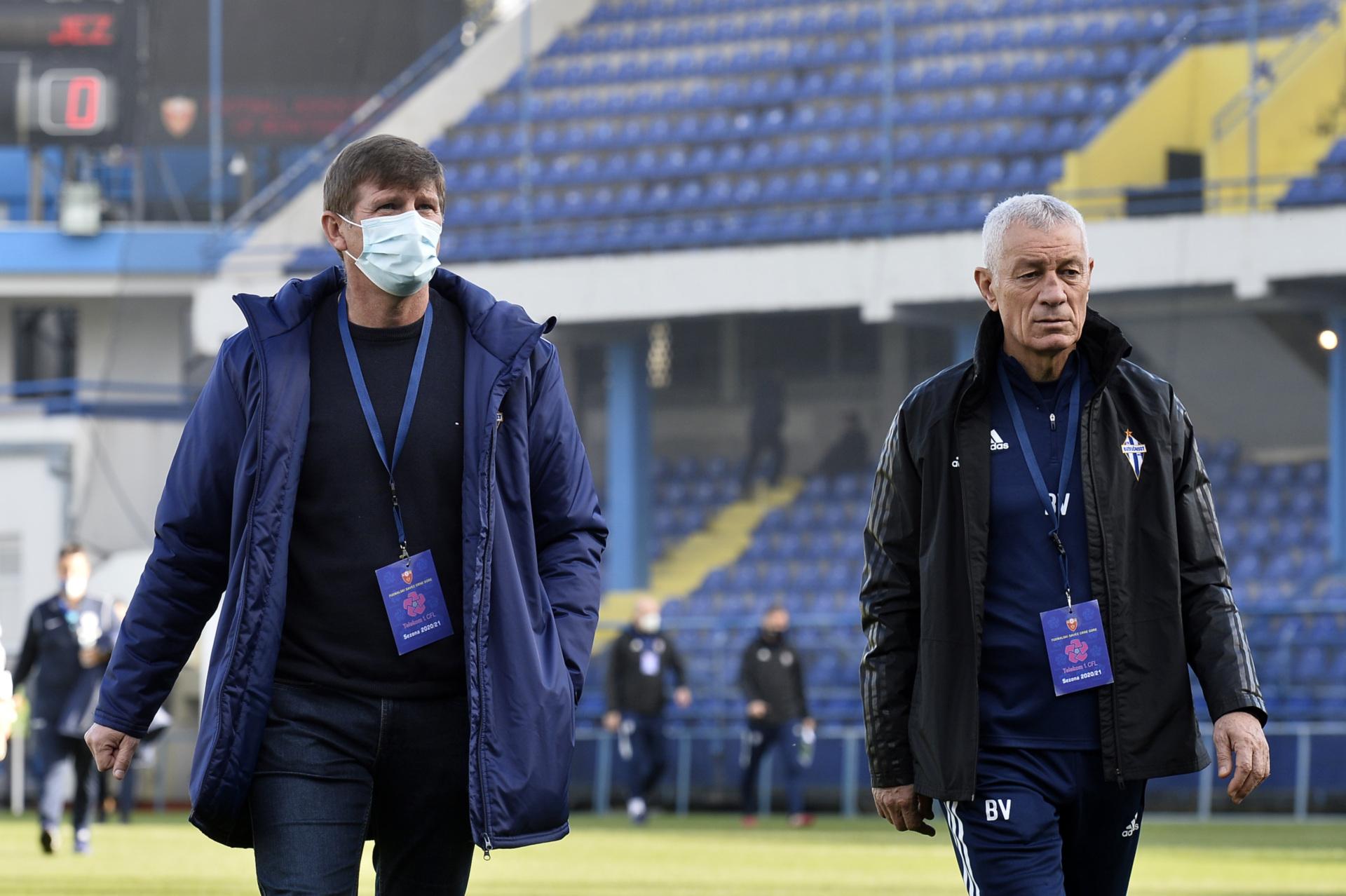 Milinković: Da se vratimo na pravi kolosjek i pobijedimo za Ćukovića