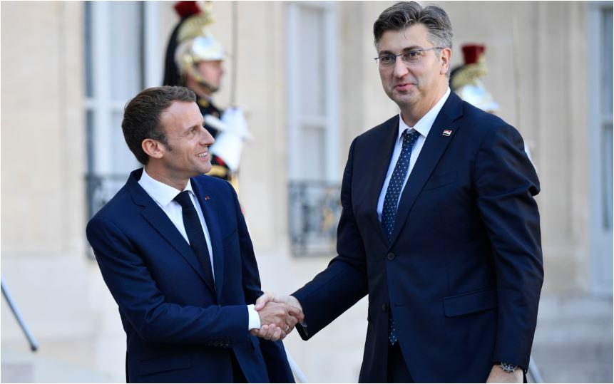 Plenković i Makron razgovarali o proširenju EU