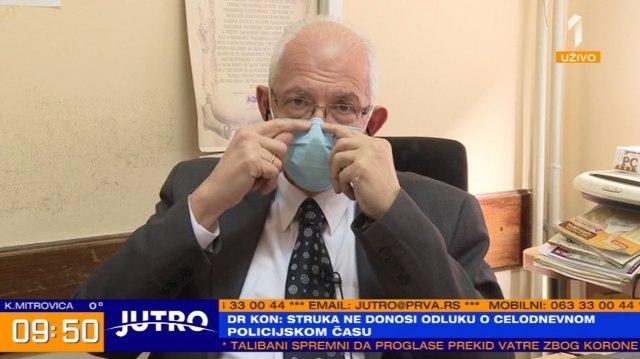 Kon: Nijesam ovo očekivao, o situaciji u Beogradu još ne smijem da govorim