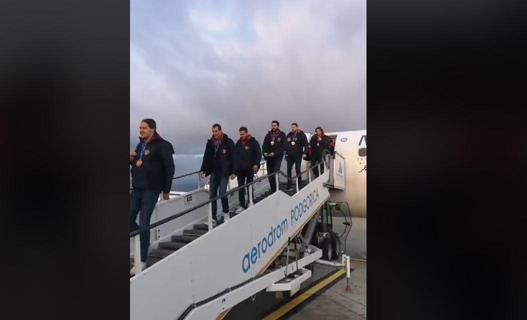 """""""Ajkule"""" stigle u Crnu Goru: Vratili smo vaterpolo na mjesto koje mu pripada"""