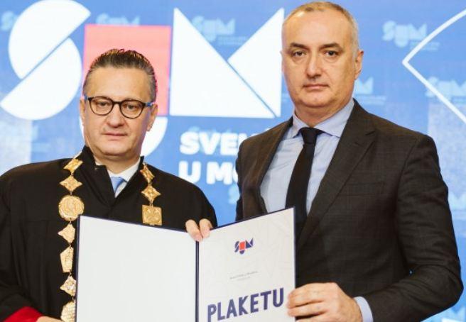 Nikoliću uručena Plaketa Sveučilišta u Mostaru