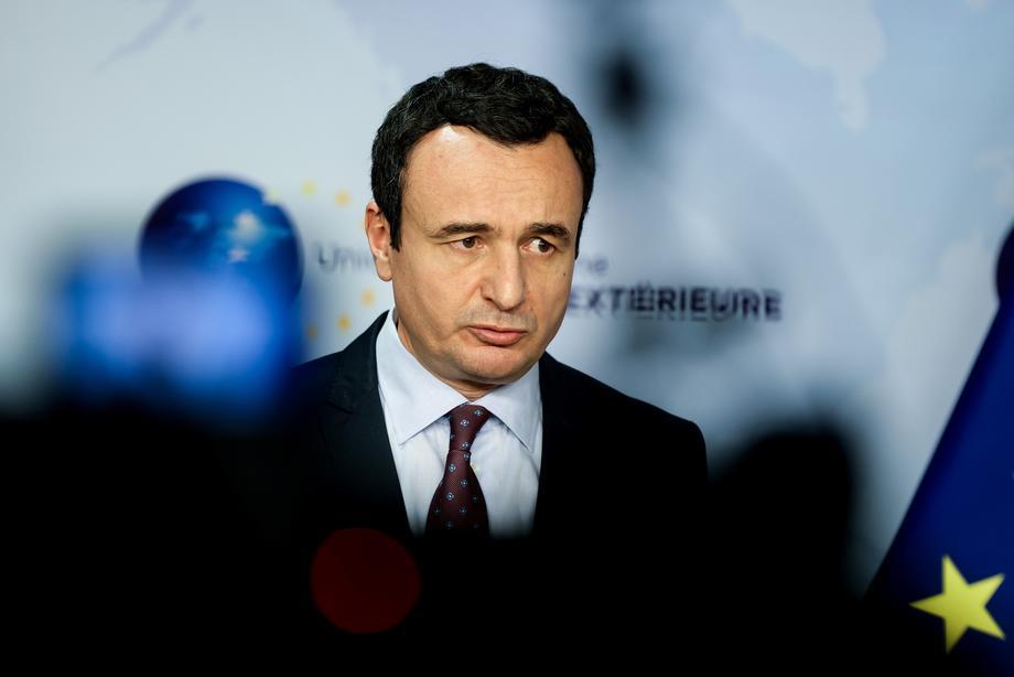 Kurti: Uvešćemo mjere reciprociteta prema Srbiji