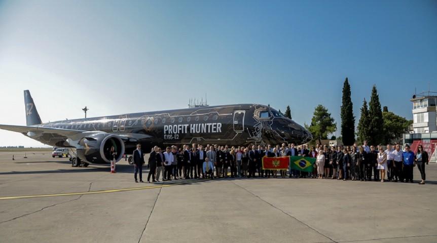 Najnoviji Embraer u Crnoj Gori nakon Francuske i Kine
