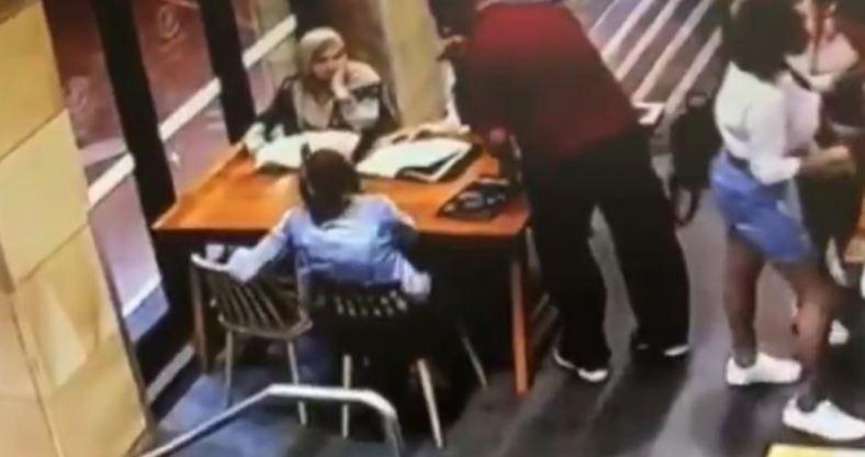 Uznemirijući snimak kruži internetom: Divljački pretukao trudnicu