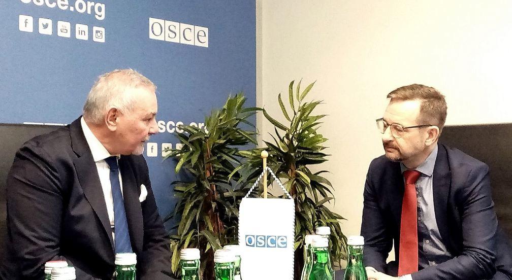 Ambasador Šuković uručio pisma Gremingeru i Deziru: OEBS prati aktuelna zbivanja u Crnoj Gori