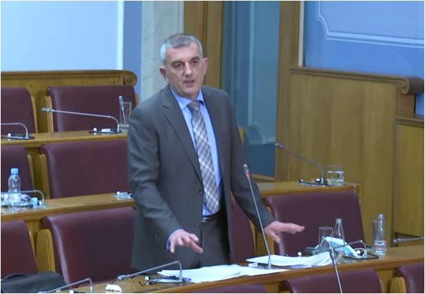 Bojanić Markoviću: Očekivano, opet ste pokušali otužnim patriotizmom da opravdate kršenje zakona