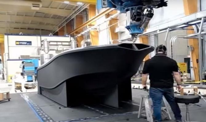 Najveći 3D štampač na svijetu odštampao najveći 3D brod